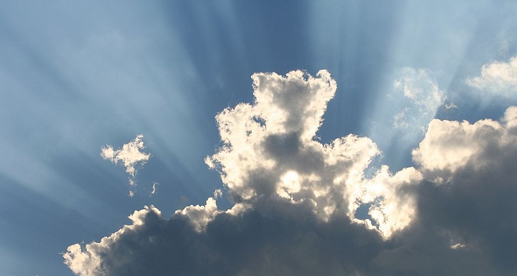 Sun Rays, WikiMedia
