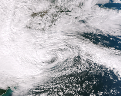 NOAA-Storm from space