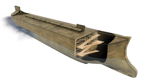 AiG: Model Cross Section of the Ark