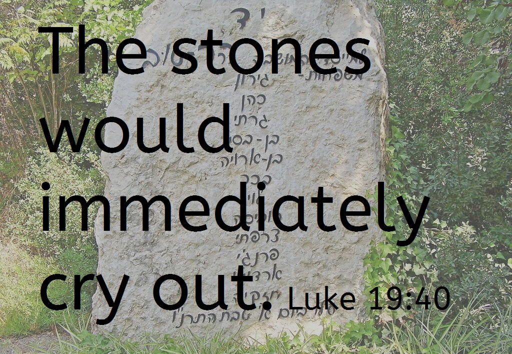 The Stones Would Cry Out