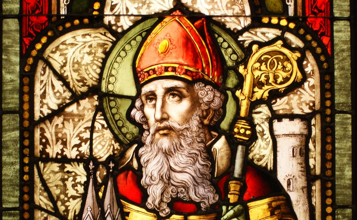 Saint Patrick Stained Glass Window