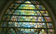 The Holy City, Tiffany Window